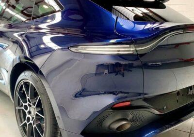 Aston Martin SUV coating treatment