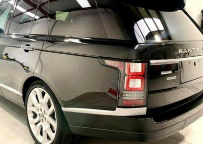 Black Range Rover complete detail