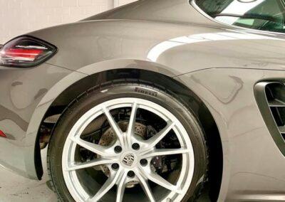 Porsche wheel up close